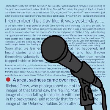 Oral History: A 5th Grade Lesson