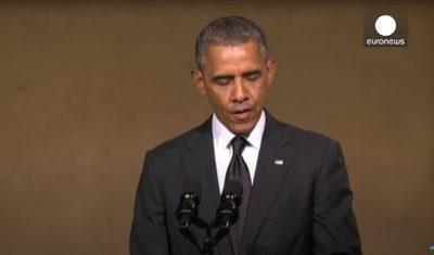 President Barack Obama Dedicates 9/11 Memorial Museum